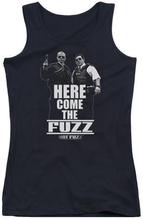 Juniors Tank Top: Hot Fuzz - Here Come The Fuzz