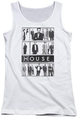 Juniors Tank Top: House - Film