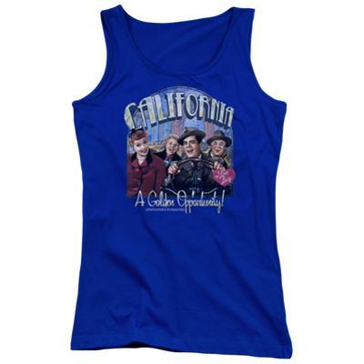 Juniors Tank Top: I Love Lucy- Golden Opportunity