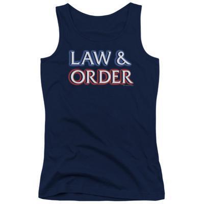 Juniors Tank Top: Law & Order - Logo