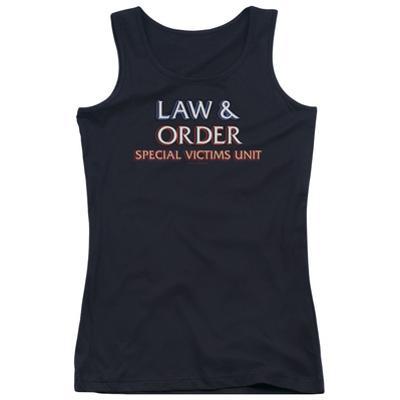 Juniors Tank Top: Law & Order SVU - Logo