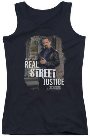 Juniors Tank Top: Law & Order SVU - Street Justice