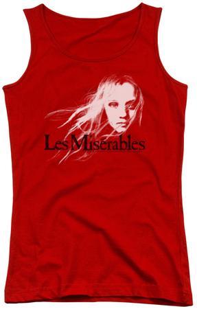 Juniors Tank Top: Les Miserables - Textured Logo