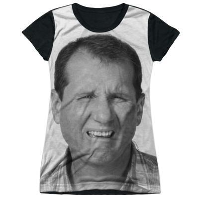Juniors Tank Top: Married With Children- Al Stink Face Black Back