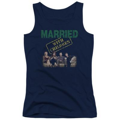 Juniors Tank Top: Married With Children- Vintage Bundy Couch Time