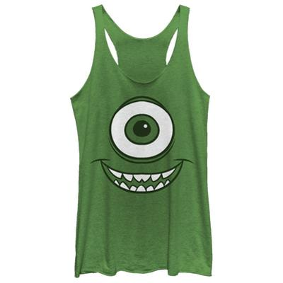 Juniors Tank Top: Monsters University- Smiley Mikey