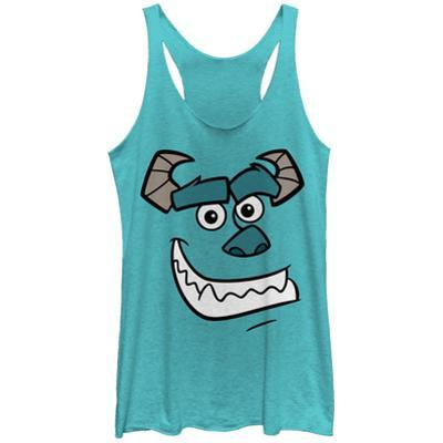 Juniors Tank Top: Pixar: Monsters University- Smiling Sully