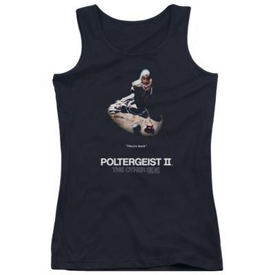 Juniors Tank Top: Poltergeist II- The Other Side