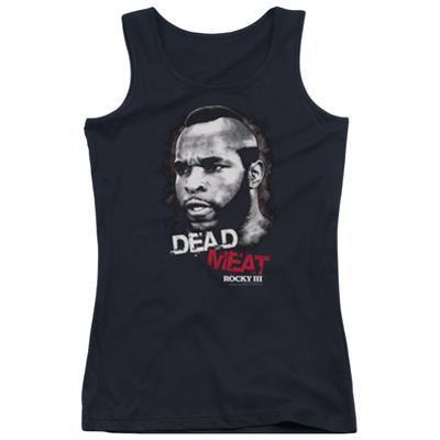 Juniors Tank Top: Rocky III - Dead Meat