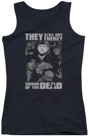 Juniors Tank Top: Shaun Of The Dead - Still Out There
