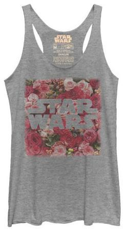 Juniors Tank Top: Star Wars- Rosey Logo