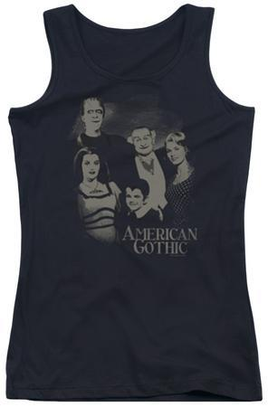 Juniors Tank Top: The Munsters - American Gothic