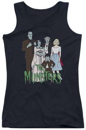 Juniors Tank Top: The Munsters - The Family
