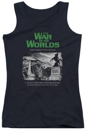 Juniors Tank Top: War Of The Worlds - Attack People Poster