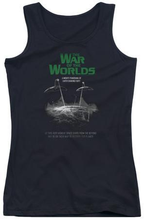Juniors Tank Top: War Of The Worlds - Attack Poster