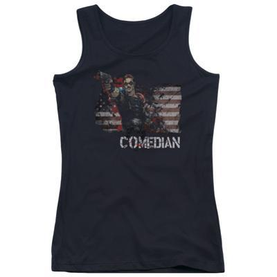 Juniors Tank Top: Watchmen - Comedian