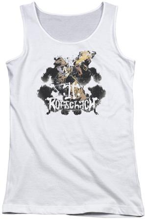 Juniors Tank Top: Watchmen - Rorschach