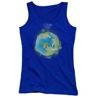 Juniors Tank Top: Yes- Fragile Cover