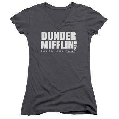 Juniors: The Office - Dunder Mifflin V-Neck