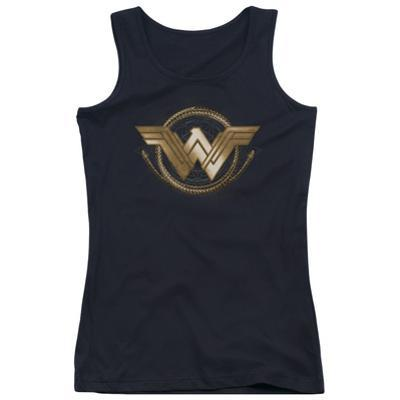 Juniors: Wonder Woman Movie - Lasso Logo Tank Top