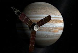 Juno Space Satellite Photograph Poster