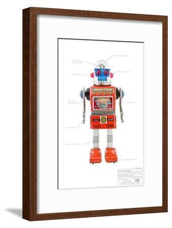 Jupiter Robot--Framed Masterprint