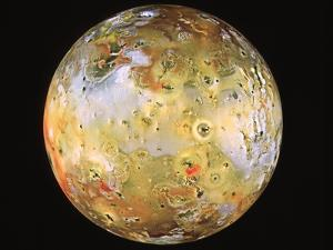 Jupiter's Moon Io Seen by Galileo