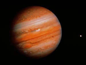 Jupiter & Two Moons