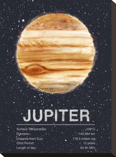 Jupiter-Tracie Andrews-Stretched Canvas Print