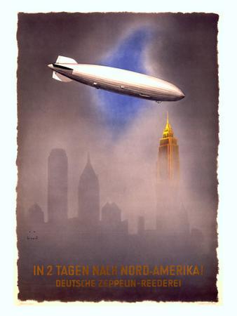 Deutsche Zeppelin-Reederei, c.1936 by Jupp Wiertz