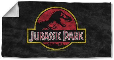 Jurassic Park - Classic Logo Beach Towel