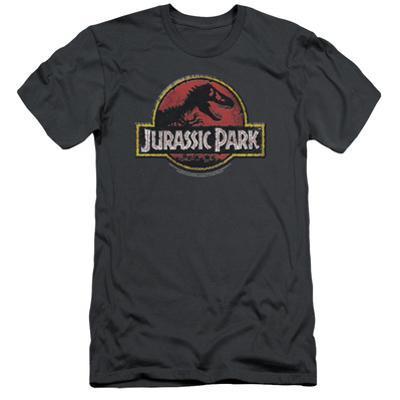 Jurassic Park - Stone Logo (slim fit)