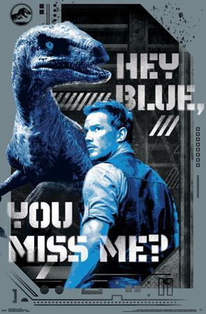 Jurassic World 2 - Hey Blue