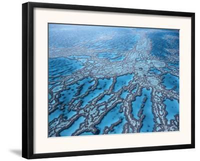 Aerial View of Great Barrier Reef, Queensland, Australia
