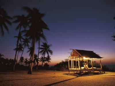 Rest House for Fishermen on Beach, Pamilacan Is, Philippines