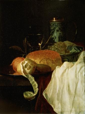 Fruit, Bread and Wine, 17th Century