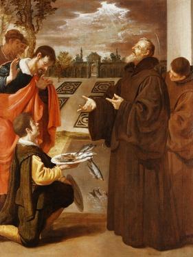 Saint Francis of Paola Blessing the Fish by Jusepe Or Jose Leonardo