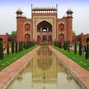 Taj Mahal Entrance Gate by JUST LIKE THAT!