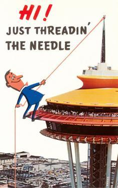 Just Threadin' the Needle, Seattle, Washington