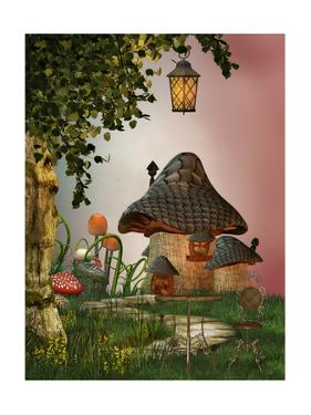 Mushroom House by justdd