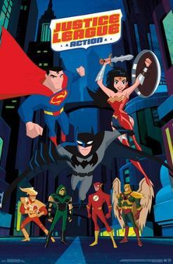 Justice League Action - Collage