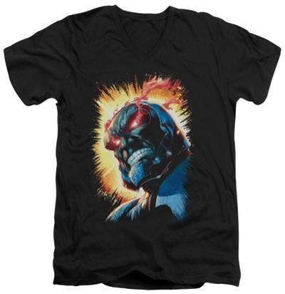 Justice League - Darkseid Is V-Neck