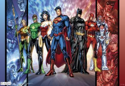 Justice League Dc Comics Poster