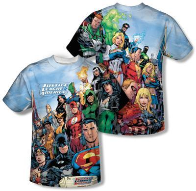 Justice League - Justice League Of America (Front/Back Print)