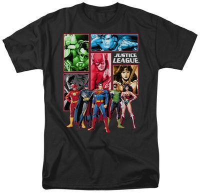 Justice League - Justice League Panels
