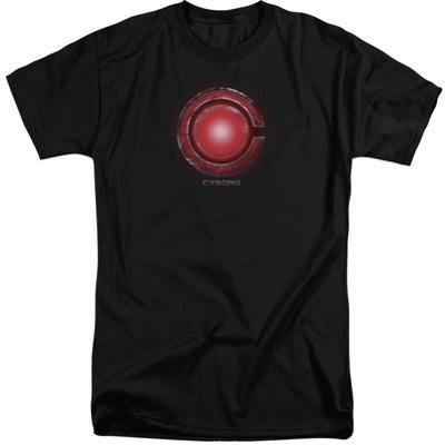Justice League Movie - Cyborg Logo (Big & Tall)