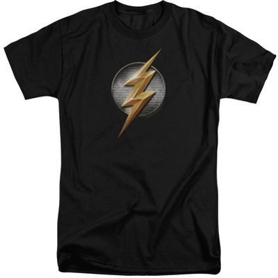 Justice League Movie - Flash Logo (Big & Tall)