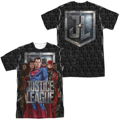 Justice League Movie - The League (Front/Back Print)