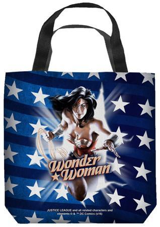 Justice League of America - Ripped Flag Tote Bag