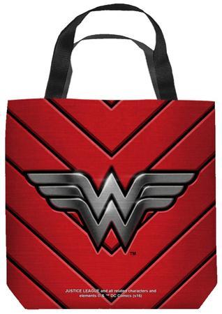 Justice League of America - Ww Emblem Tote Bag